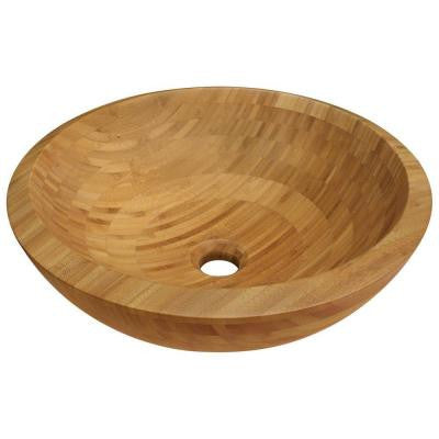 Vessel Sink in Bamboo