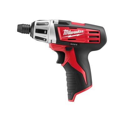 M12 12-Volt Lithium-Ion Cordless 1/4 in. Hex Screwdriver (Tool-Only)