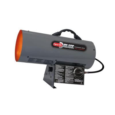 30K - 60K BTU LP Forced Air Propane Portable Heater