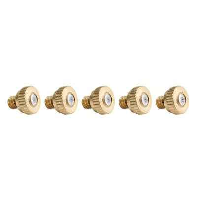 Brass Misting Nozzle (5-Pack)