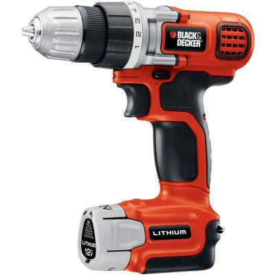 12-Volt Max Lithium-Ion Cordless Drill and Driver