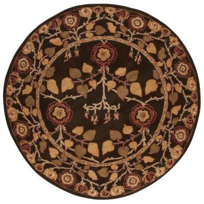 Patrician Java 8 ft. Round Area Rug