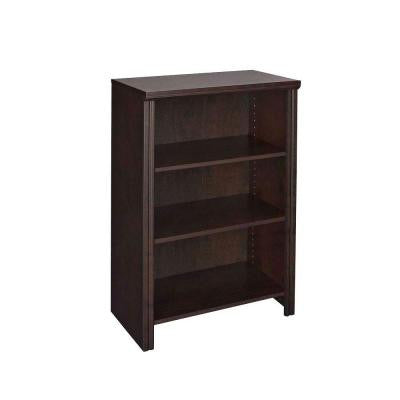 Impressions 25 in. Chocolate 4-Shelf Organizer