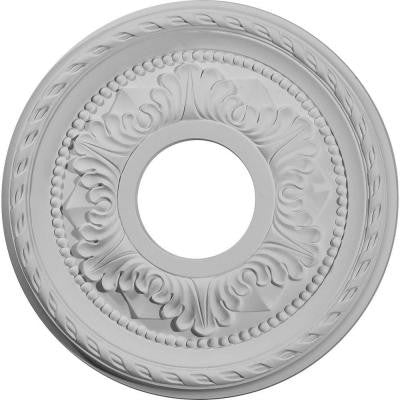 11-3/8 in. Palmetto Ceiling Medallion