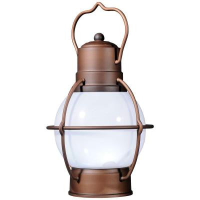 Rustico Outdoor Copper LED Hanging Lantern