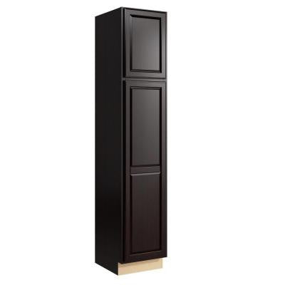 Salvo 18 in. W x 90 in. H Linen Cabinet in Coffee