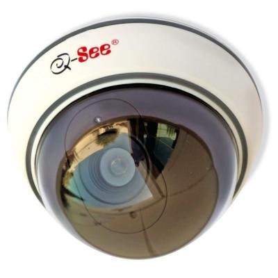 Non-Operational Indoor Decoy Dome Security Camera