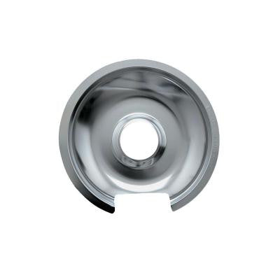 6 in. Small Drip Pan in Chrome (1-Pack)