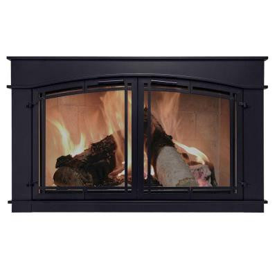 Fieldcrest Large Glass Fireplace Doors