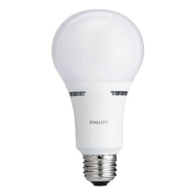 75W Equivalent Soft White Household A19 Dimmable LED with Warm Glow Light Effect Light Bulb