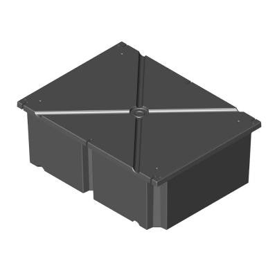 36 in. x 48 in. x 20 in. Dock System Float Drum