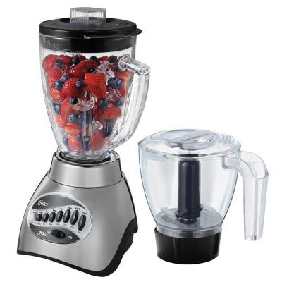 16-Speed Blender with Food Processor Attachment and 6-Cup Glass Jar