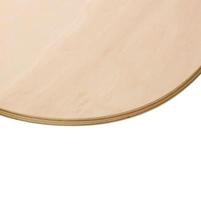 3/4 in. x 1-1/2 ft. Sande Plywood Round Board
