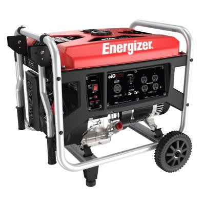 6,250-Watt Heavy Duty Gasoline Portable Generator
