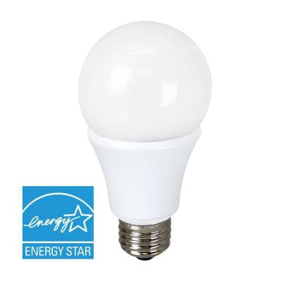 40W Equivalent Soft White A19 Dimmable LED Light Bulb
