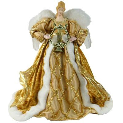 16 in. Gold Angel Figurine