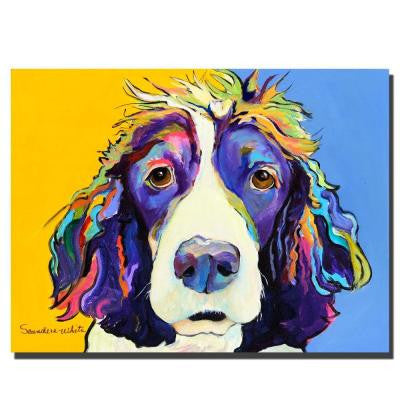 35 in. x 47 in. Sadie Canvas Art