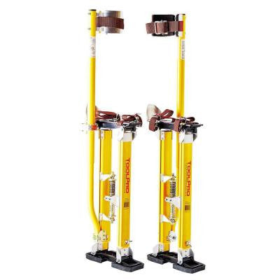 24 in. to 40 in. Magnesium Adjustable Drywall Stilts