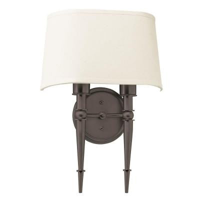 Orly 2-Light Oil Rubbed Bronze Sconce