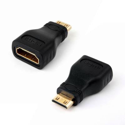 HDMI Female to Mini HDMI Male Connector Adapter Converter (5-Pack)