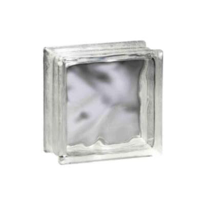 Decora 7-3/4 in. x 7-3/4 in. x 3-1/8 in. Thinline Glass Blocks (10-Pack)