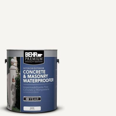1-gal. #870 White Concrete and Masonry Waterproofer