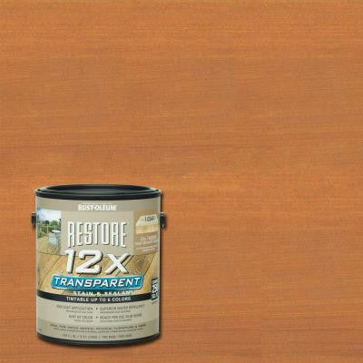 1 Gallon 12X Transparent Redwood Stain and Sealant