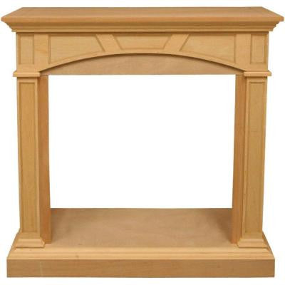 46.81 in. Vent-Free Mantel Fireplace