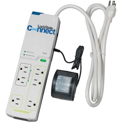 15 Amp 120-Volt Wi-Fi Multi-Outlet Power Strip with Motion Detection