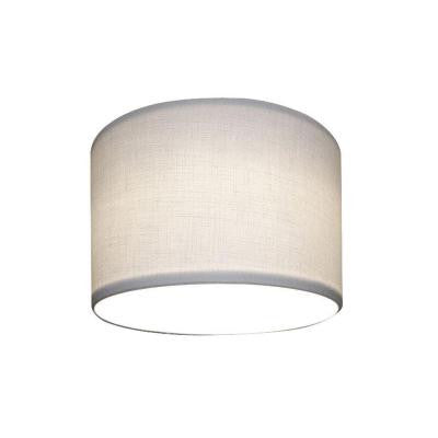 5 in. White Linen Recessed Lighting with Can Shade