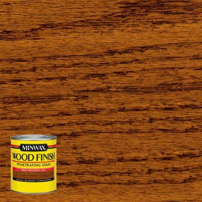 8 oz. Wood Finish Red Chestnut Oil-Based Interior Stain