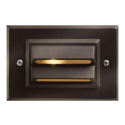 Bronze Recessed Outdoor LED Deck Light