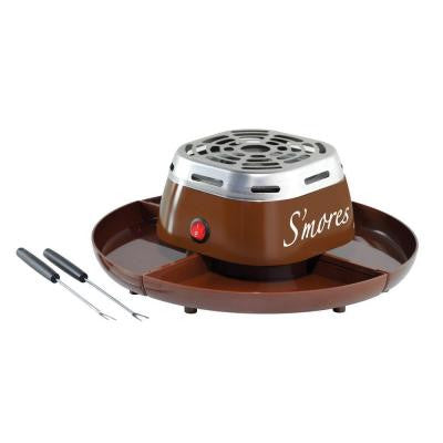 Electric S'Mores Maker in Brown