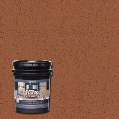 4 gal. 10X Advanced Redwood Deck and Concrete Resurfacer