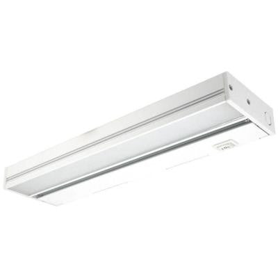 MAXCOR 12 in. White LED Under Cabinet Lighting Fixture