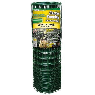 28 in. x 50 ft. PVC-Coated Rabbit Guard Garden Fence
