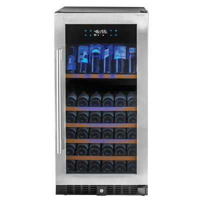 N'FINITY PRO HDX 94-Bottle Dual Zone Wine Cellar