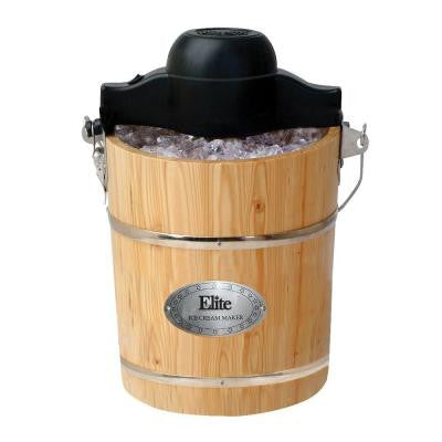 Gourmet 6 qt. Old-Fashioned Ice Cream Maker