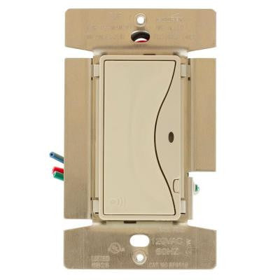 ASPIRE 8-Amp RF Single-Pole Wireless Light Switch - Desert Sand