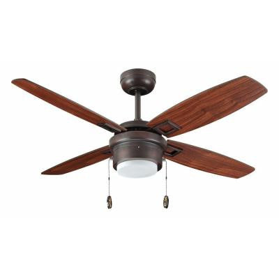 Sprite 42 in. Oil Rubbed Bronze Ceiling Fan with Light