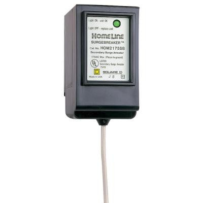 Homeline SurgeBreaker Surge Protective Device Takes 2 Load Center Spaces