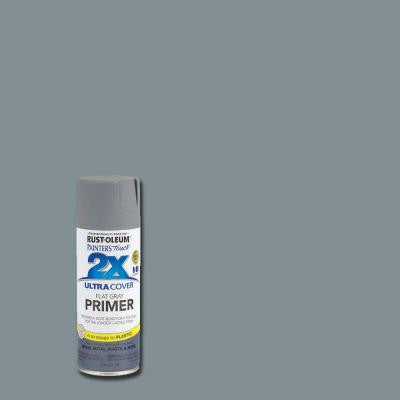 12 oz. Flat Gray Primer General Purpose Spray Paint