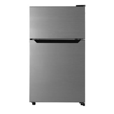 3.3 cu. ft. Mini Refrigerator in Brushed Silver