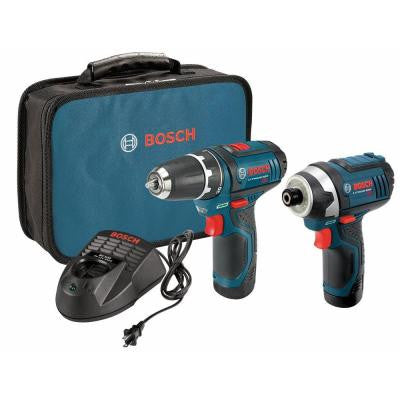 12-Volt Lithium-Ion Cordless MAX Combo Kit with (2) 2Ah Batteries (2-Tool)