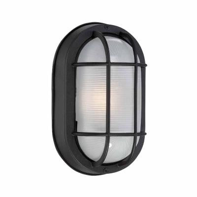 Black Outdoor LED Wall Lantern