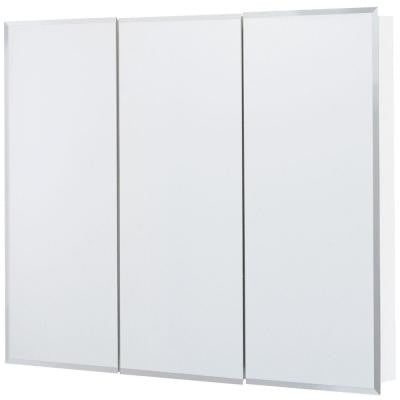 36 in. x 29 in. Surface-Mount Mirrored Medicine Cabinet