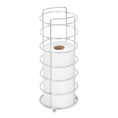 Freestanding Toilet Paper Holder in Chrome