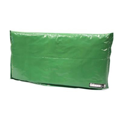 48 in. L x 24 in. H Large Fiberglass Encapsulated Green Plastic Insulation Pouch