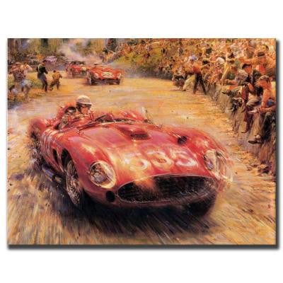 35 in. x 47 in. 535-Gallery Wrapped Canvas Art