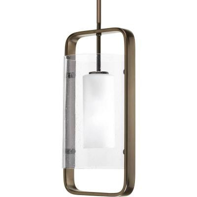 Coupe Collection 1-Light Venetian Bronze Hanging Lantern